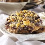 Blueberry Crunch Bagel