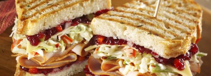 Ham, Swiss, Avocado And Spinach Panini Recipe — Dishmaps